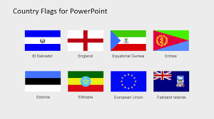 European Countries Flag Country Flags Clipart For Powerpoint C To D Slidemodel