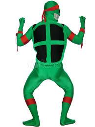 Tmnt Halloween Costumes Halloween Green Teenage Mutant Ninja Turtles Spandex Lycra Super