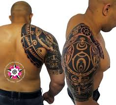 maori polynesian circle tattoo designs photo 1 photo pictures