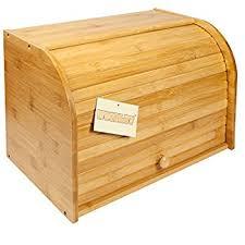 wooden bin woodluv bamboo decker 2 layer roll top wooden bread bin
