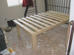 Simple Platform Bed Frame How To Make A Simple Platform Bed Frame Archives Gulliftys Us