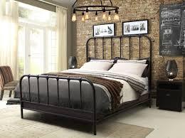 Trent Bedroom Set Espresso Finish Diamond Sofa Mateo Panel Bed U0026 Reviews Wayfair