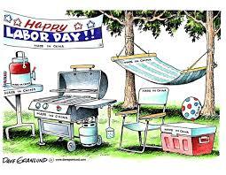 Backyard Cartoon Dave Granlund U2013 Editorial Cartoons And Illustrations Labor Day