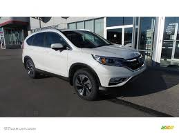 honda crv white 2016 white diamond pearl honda cr v touring awd 110524178