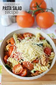 easy salad recipe easy pasta salad recipe the best pasta salad recipe and it is so