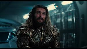 justice league u0027 aquaman bts photo motion poster and more