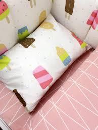 Nursery Cot Bed Sets by 7pc Crib Infant Room Kids Baby Bedroom Set Nursery Bedding Black