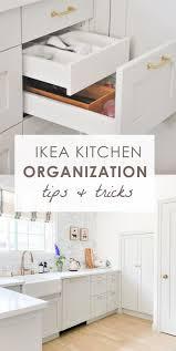 ikea kitchen sink cabinet drawers ikea kitchen organization ideas and hacks ikea kitchen