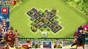 Coc Maps Clash Of Clans Town Hall 7 Defense Best Coc Th7 Trophy Base Layout
