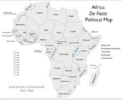 Blank Map Of World Political by Free Customizable Maps Of Africa For Download Geocurrents