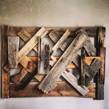 wall decor made of wood made reclaimed wood wall by ausden inc custommade