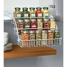 spice rack cabinet insert spice rack for cabinet door mounted spice racks spice rack cabinet