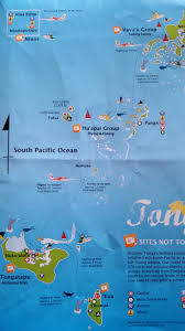 Tonga Map Travel To Tonga Franz Explorer