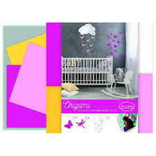 origami chambre bébé kit déco origami chambre bébé fille aladine 85409 loisirs créatifs