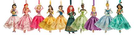 disney princess sketchbook ornaments 2014 disney princesses