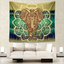 indian mandala tapestry hippie home decorative wall hanging