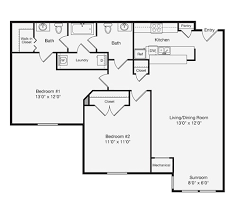 Lakeside Floor Plan Lakeside Gardens Durham Nc Apartment Finder