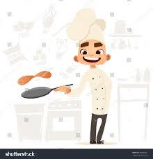 funny cook bon appetit menu cute stock vector 406685827 shutterstock