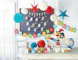 Classroom Theme Decor Paper Party Decorations By Recollections Craft It The Glue String