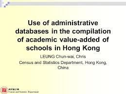 bureau of census and statistics 政府統計處 census and statistics department use of administrative