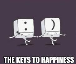 Happiness Meme - the key to happiness meme by nawafwaleed memedroid