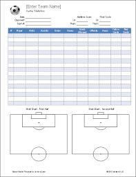 Stat Sheet Template Epic Soccer On Soccer Drills Soccer And Soccer