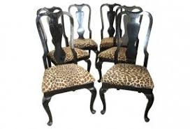 Leopard Armchair Leopard Print Dining Chairs Foter