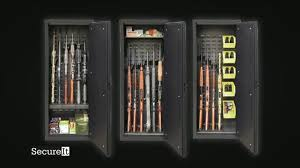 model 52 gun cabinet secureit model 52 tv commercial reinventing the gun safe ispot tv