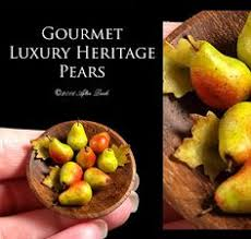 gourmet pears luxury green pears set on my handmade walnut board artisan