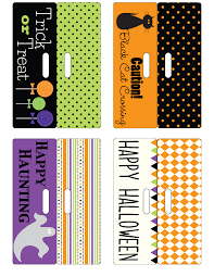 halloween bag toppers free printable blog design blogger