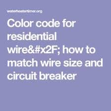 http waterheatertimer org color codewire html mechanic u0027s