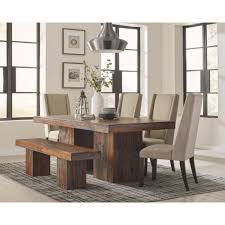 6 pc dining table set scott living 6pc dining room sets 107481 dining room dining chair