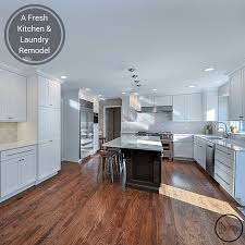 laundry in kitchen ideas a fresh kitchen laundry remodel home remodeling contractors