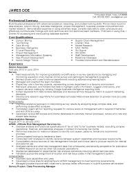 Supply Chain Management Executive Resume Manager Resume Supervisor Templates Administrative And Managem