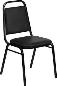 banquet chair flash furniture 4 pk hercules series trapezoidal back