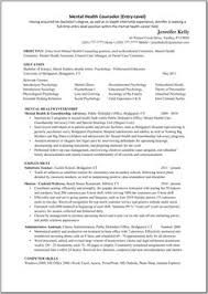 College Counselor Resume Therapist Counselor Resume Example Resume Examples Social Work