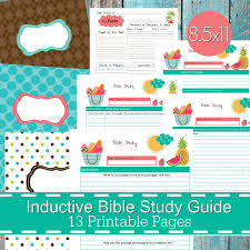 inductive bible study guide printables pdf christian bible