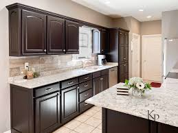 brown kitchen cabinets with backsplash it s true not everyone wants white kitchen cabinets