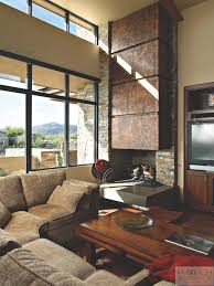 Mountain Home Decor Garden And Patio Desert Landscape House Design With Rocks Gravels