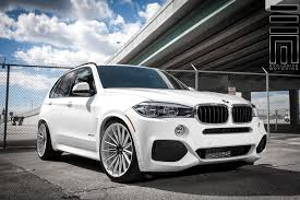 custom white bmw vossen wheels bmw x5 vossen flow formed series vfs 2