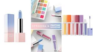pantone colors of the year sephora and pantone launch color of the year makeup pret a reporter