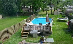Backyard Landscaping Ideas With Above Ground Pool Above Ground Gardens Plans Home Outdoor Decoration