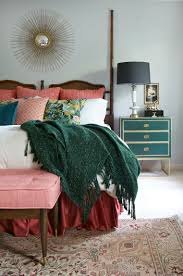 Emerald Green Home Decor by Stylish Bedroom Inspiration And Nightstand Decor Green Chest