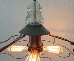 Filament Bulb Desk Lamp Industrial Vintage Fan Chandelier With Edison Filament Bulbs Id