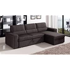 Sectional Sofa With Storage Chaise Amazon Com Coaster Home Furnishings 501677 Casual Sectional Sofa