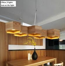 Wooden Chandeliers Lighting 2017 Southeast Asian Circinate Wood Chandelier Dia60cm