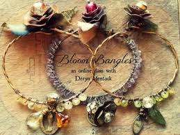 Online Jewelry Making Classes - bloom bangles something sublime