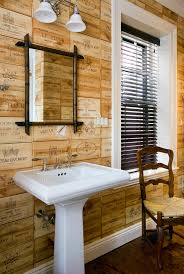 pedestal sink bathroom design ideas bathroom eclectic with wood
