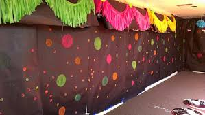 glow in the party ideas for teenagers glow in the party wall decorations wedding decor
