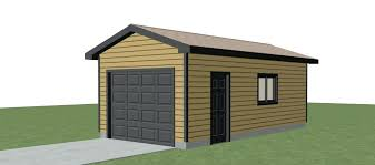 single car garage designs plans for storage shed